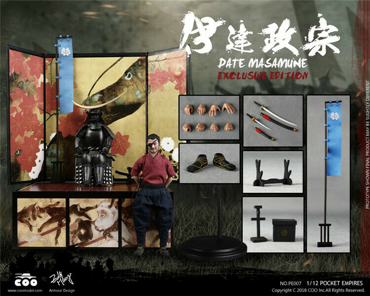 1 12 COOMODEL PE007 Palm Empires-Date Masamune Figure Exclusive Ver. Collectible