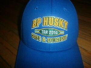 BP-HUSKY-REFINERY-HAT-Embroidered-Baseball-Cap-Oil-Industry-Toledo-Oregon-Ohio-B