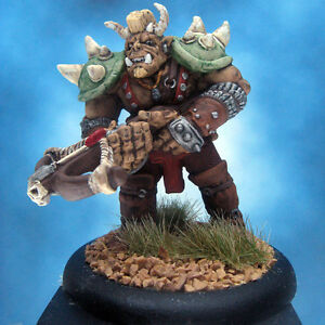 Painted-Ral-Partha-MageKnight-Miniature-Troll-Artillerist-I