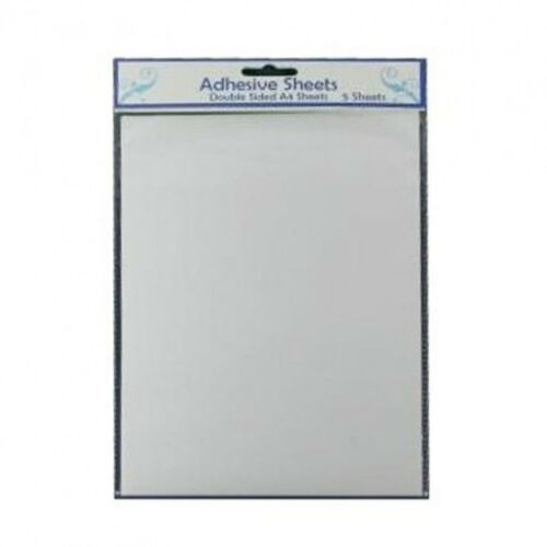 Creative Expressions  A4 DOUBLE SIDED ADHESIVE SHEETS pk5  As used by Sue Wilson