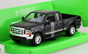 Ford F 350 Pick up schwarz 1999 1:24 Welly  Modellauto 22081