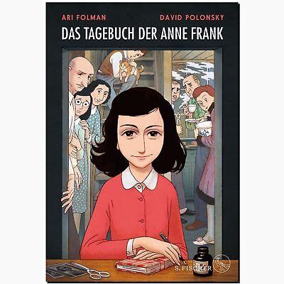 Das Tagebuch der Anne Frank COMIC Biografie 2.WELTKRIEG holocaust GRAPHIC NOVEL