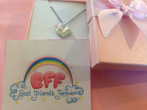 Girls best friend Necklace best friends forever leaving gift  in GIFT BOX