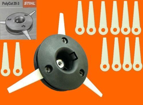 Stihl polycut 20-3 para fs-44 fs44 FS 44 mähkopf cabezal de hilo