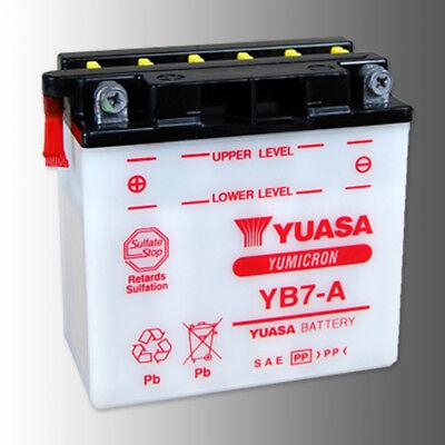 YUASA YB7 A Motorradbatterie 12V 8Ah YUMICRON