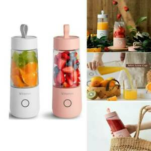 350ml Smart USB Mini Juice Cup Portable Blender Smoothie Juice Milk Shak Machine