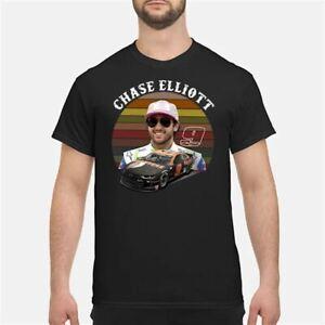 Gildan-Vintage-Chase-Elliott-9-Nascar-Chevrolet-Hendrick-Motorsports-Black-Shirt