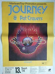 JOURNEY-1978-OFFENBACH-orig-Concert-Poster-Konzert-Plakat-A1-NEU