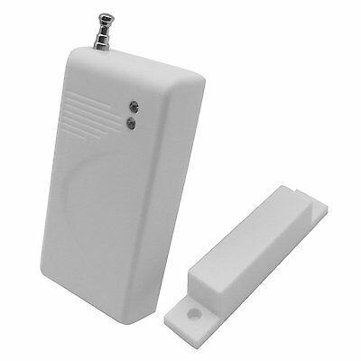 5pcs Universal 433MHz Wireless Magnetic Sensor Window Door Detector Fixed Code