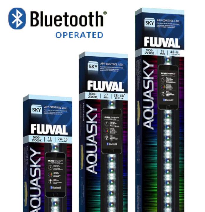 offrendo il 100% FLUVAL Aquasky 2.0 unità di illuminazione a LED LED LED bluTOOTH APP controllata Acquario Fish Tank  vendita scontata