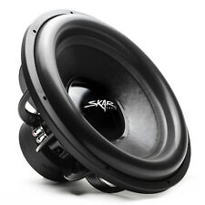 "Skar Audio Evl-18 D2 18"""" 2500 Watt Max Power Dual 2 Ohm Car Subwoofer"