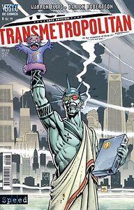 TRANSMETROPOLITAN (deutsch) # 8 Warren Ellis+Darick Robertson DC VERTIGO +TOP+