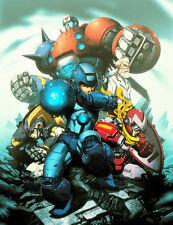 "Nintendo Nes Gamecube MEGAMAN  ROCKMAN Decor Wall  Poster 8.5""x11"" Game Room #11"