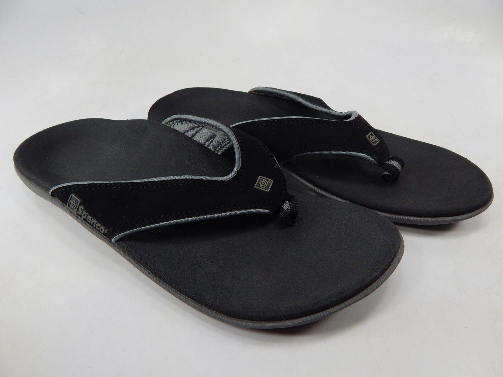 Spenco Yumi Polysorb Talla 8.5 M (B) (B) (B) EU 38.5 para Mujer Ligero Flip Flop Sandalias  saludable