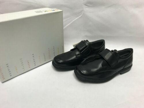 Geox J Federico un Garçon Noir École De Chaussures Taille UK 12.5//13//1//1.5//2.5//6