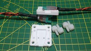 MPX-6-polig-Stecker-Zugentlastung-versiegeln-isolieren-PTFE-Teflon-Giessform-CNC