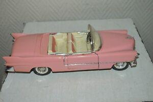 VOITURE-SOLIDO-CADILLAC-ELDORADO-1955-1-21-CAR-AUTO-PINK-LADY-GMC