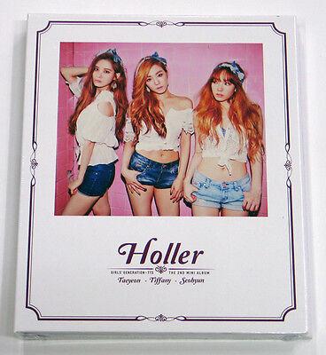 TAETISEO SNSD Girls' Generation - Holler (2nd Mini) TAEYEON, TIFFANY, SEOHYUN