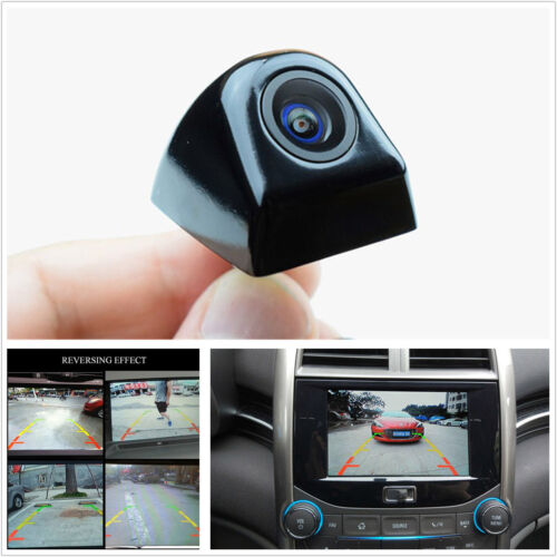 Black 170° Korean Screw Reversing Camera HD Car Rear View Backup Parking Camera