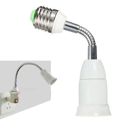 E27 To E27 Flexible Extend LED Light Bulb Holder Adapter Converter Socket Lamp