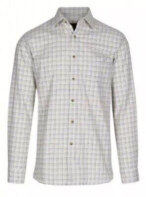Da Uomo Viyella Cotone/lana Camicia Taglia 15 38cm Rrp £ 69.95 {n 43}-mostra Il Titolo Originale Paghi Uno Prendi Due