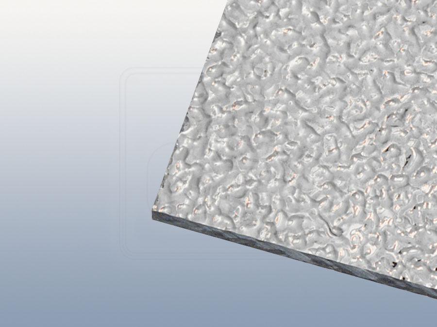 Strukturiertes Acrylglas Kräusel 6 mm klar ähnlich GC 34