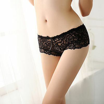 Sexy Women Lace Panties Brief Bikini Knickers Lingerie Underwear Thongs G-string