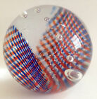 CAITHNESS SCOTLAND Tartan Twist Range Glass Paperweight Alastair MacIntosh CIIG