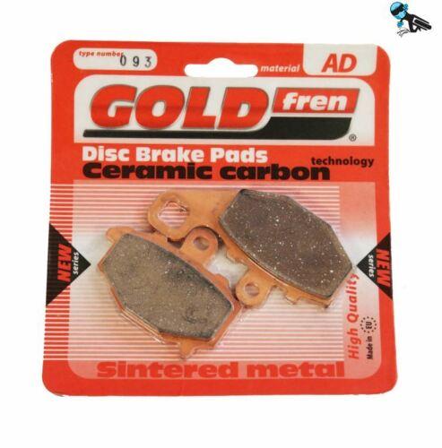 Goldfren AD Rear Brake Pads Kawasaki ZX6R ZX 636 B1-B2 03-04