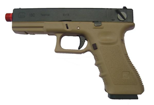 Model 18 g18 raffica we gen 4 tan de softair airsoft ebay for Rastrelliera per fucili softair