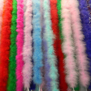 Feather-String-Tape-Trim-Sewing-Trimming-Craft-Fluffy-Decoration-7g-2m-Party-DIY