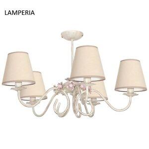 Das Bild Wird Geladen Deckenlampe Deckenleuchte Jugendstil Art Landhaus Lampe Wohnzimmer Retro