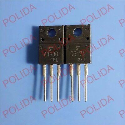 1pair OR 2PCS Transistor TOSHIBA TO-220 2SA1930//2SC5171 A1930//C5171