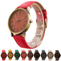 New Retro Vogue WristWatch Cowboy Leather Band Analog Quartz Wrist Watch