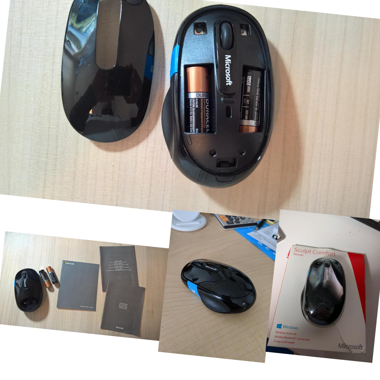 Microsoft H3s-00001 Sculpt Comfort Bluetooth Mouse