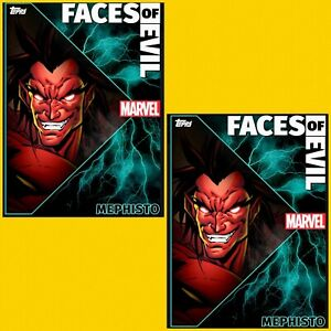 2x-Topps-MARVEL-COLLECT-DIGITAL-Card-FACES-OF-EVIL-STATIC-MEPHISTO-WAVE-3-4
