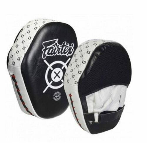"Fairtex /""AERO/"" Focus Mitts Black /& White FMV11"