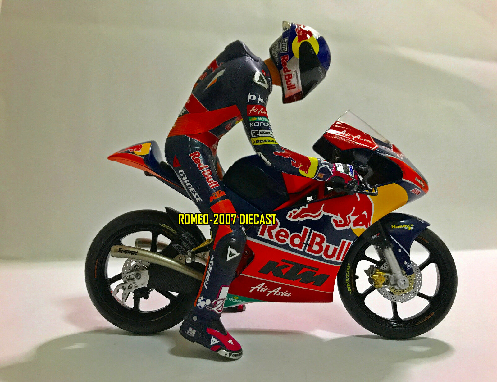 1 12 Conversión Minichamps Figure Figurine Luis Salom 2013 KTM 250RC R No Rossi