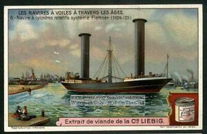 Rotary-Cylinder-Powered-Ship-NICE-c-1920s-Trade-Ad-Card