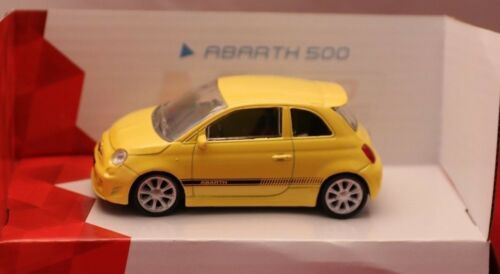 **ABARTH 500****Italian Style****Maßstab 1:43** Mondo Motors**neu gelb