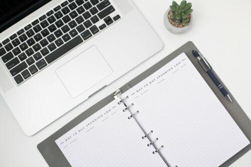 New Undated Free Refills Bill Tracker Monthly Budget Organizer 2 years