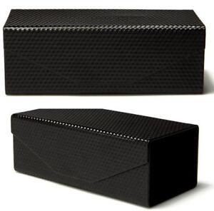 HARD-CASE-BOX-SUNGLASSES-MAGNETIC-BLACK-READING-GLASSES-SPECTACLES-MENS-LADIES