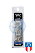 Perma Coil 206 308 Metric Thread Insert Pack M8x125 12pc Helicoil R1084 8