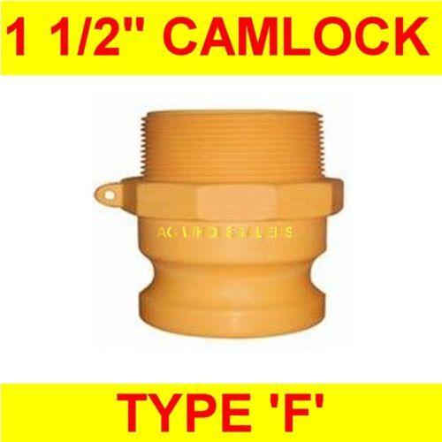 CAMLOCK NYLON TYPE F 1 1/2 CAM LOCK IRRIGATION FITTING