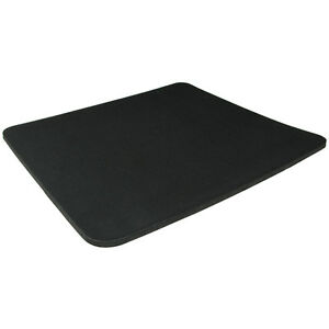 Black Fabric Mouse Mat Pad High Quality 5mm Thick Non Slip Foam 25cm x 22cm 5056098713945