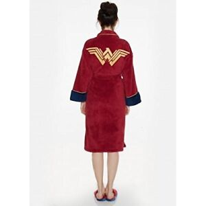 Batman-v-Superman-Wonder-Woman-Adult-Fleece-Bathrobe
