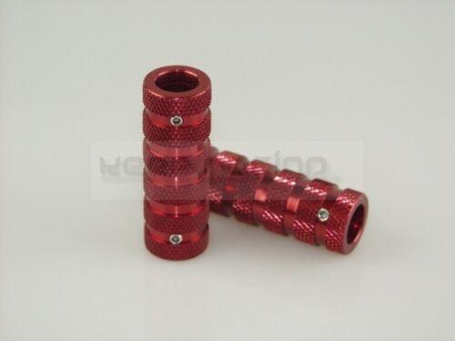 rot eloxiert Antislip Pedal Grip Satz ULTRA Alu 2 Stück