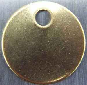 25-Qty-Round-1-1-2-034-Blank-Brass-ID-tags-Pets-Keys-Tools-Valves