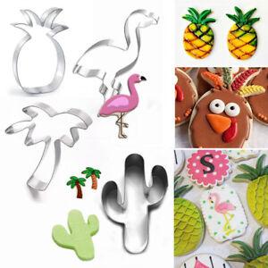 Nouveau-Flamingo-ananas-emporte-pieces-cactus-biscuit-moule-outil-de-cuisson