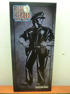 1998-ERTL-Collectable-Real-Heroes-Top-Cop-1-6-Scale-Police-Action-Figure-17133